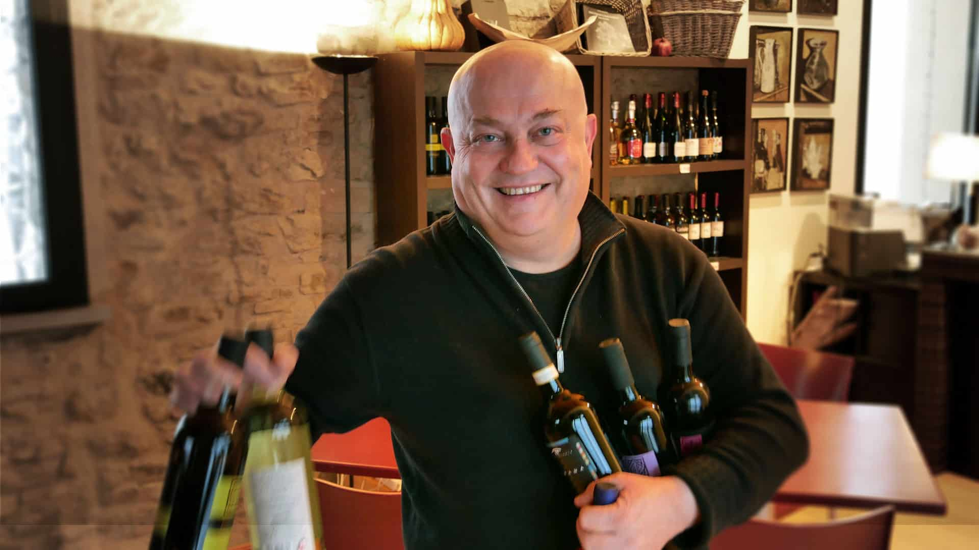 Marco, our wine specialist