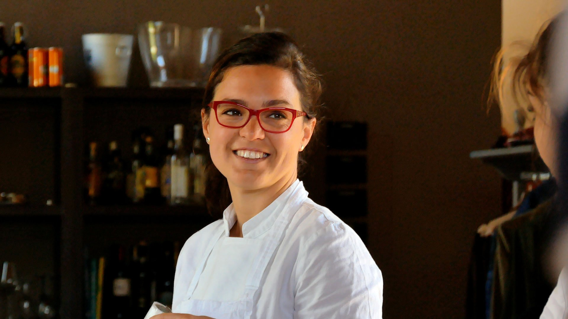 Lisa, one of our cooks